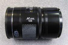 Minolta Maxxum AF 135MM 1:2.8 (32) Lens Japan for Sony
