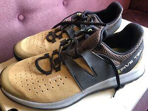 Five Ten Mustard Black Suede Men's Trainers Walking Size 13 EUR 48.5 VGC
