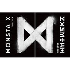 MONSTA X [THE CODE] 5th Mini Album RANDOM CD+P.Book+P.Blooket+2p Card+etc SEALED