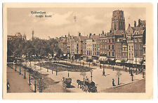 Rotterdam - Groote Markt PPC, 1924 Netherlands to Blackfriars London GB