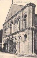 France Surgeres Facade de l'Eglise Kirche Church
