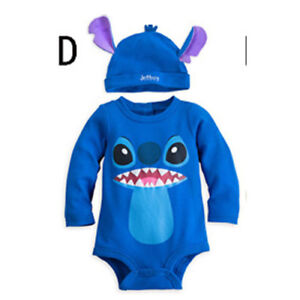 New Baby Boys Girls Animal Costume Playsuit Outfit Romper Clothes Hat Set 0-18 M