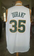 Signed KEVIN DURANT Seattle Supersonics Rookie Year with COA. RARE