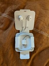 Apple EarPods with Lightning Connector In Ear Canal Headset - White
