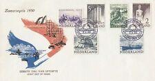 Nederland • FDC E1 • Zomerzegels • Onbeschreven • Lees toelichting