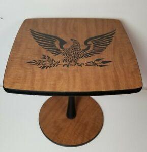 Vintage Patriotic Eagle Side Accent Table