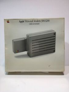 Apple Personal Modem 300/1200 A9M0334 N E W Sealed / In Original Box / No Cables