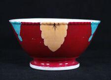 Antique Russian Kuznetsov Porcelain Bowl