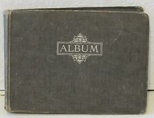 Great War period photo album ... biplane, military, domestic life, cricket, cars