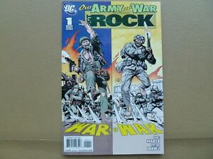 Our Army at War Sgt. Rock #1 One Shot 2010  Joe Kubert cover art DC