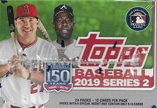 Series 2 Baseball 2019 Topps Retail Sealed Box 24-packs