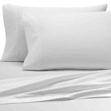 Wamsutta 500-Thread-Count PimaCott Queen Sheet Set Solid White