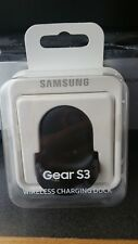 NEW Samsung Gear S3 Wireless Charging Dock Black Sealed in RETAIL BOX