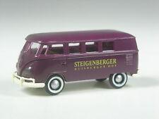 TOP: Brekina VW T1 Bus Steigenberger Duisburg lila in OVP