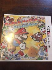 Paper Mario: Sticker Star (Nintendo 3DS, 2012) COMPLETE