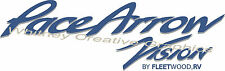 """ PACE ARROW VISION""  RV  Graphic Lettering Decal 24"" X 7.5"" Made fresh"