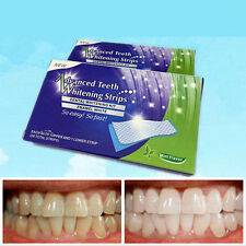 28 Strips - Advanced Teeth Whitening Strip Dental Whitestrips Bleaching P1WU