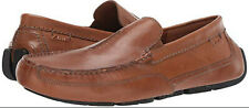 Clarks Men's Ashmont Race Tan Leather Moccasin Shoes 11 D WORN ONCE 26134552