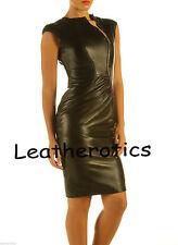 Festliche Damenjacken & -mäntel aus Leder mit Reißverschluss