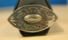 Vintage Mexico  Danny's Sterling Silver & Abalone Pin / Brooch Southwest style