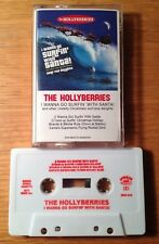 Christmas THE HOLLYBERRIES I Wanna Go Surfin' with Santa Claus BURGER CASSETTE