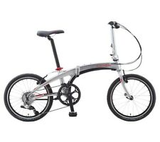 "Dahon Vigor D9 Silver 20"" Folding Bike Bicycle"