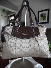 COACH Ashley Signature Carryall Two way bag F19244