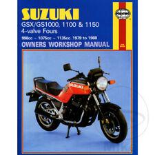 Suzuki GSX 1100 ES 1984 Haynes Service Repair Manual 0737