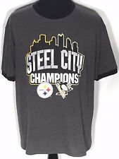 Steel City Champions Pittsburgh Steelers Penguins Super Bowls Stanley Cups Shirt