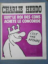 ►CHARLIE HEBDO N°116 - FEVRIER 1973 - WOLINSKI