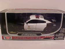 2011 Dodge Charger Interceptor Diecast Police Car 1:24 Motormax 8 inch LAPD