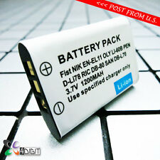 D-LI78 DLI78 Battery for Pentax Optio L50 M50 M60 S1 V20 W60 W80 Digital Camera