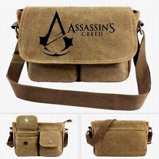 Assassins Creed Handbag Wallet Purse School Travel Bag Backpack Canvas PS4 Xbox
