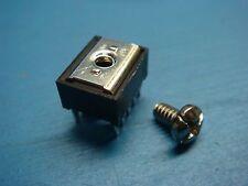 (2) AMP 55556-4 POWER TAP CONNECTOR 6-32 SCREW TERMINAL LOW PROFILE 10 PIN DIP