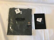 XMAS GIFT! Moschino Underbear Jeremy Scott Teddy Bear Green Mens Underwear & Tee