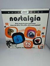 Nostalgia DVD Quiz Game Ginger Fox 2007
