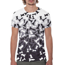 Chess t-shirt- chess pieces black and white T-shirt HD print