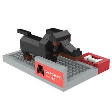 Dachshund - ANSBRICK BLOCK PET.2. Building, Learning - Nanoblock compatible