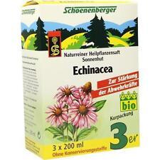 ECHINACEA SAFT Schoenenberger Heilpflanzensäfte 3X200 ml PZN 699773