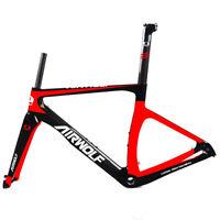 T1000 Carbon Road Frame Disc Racing Bike Bicycle Frameset 700C Axle Rod Frames