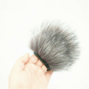 Mic Microphone Muff Fur Windshield Cover Anti-Wind Noise Prevention For Zoom H1
