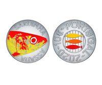 10 euro Portugal 2020 argent BE - Sardine / Gastronomie portugaise