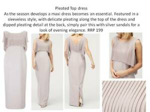 Taupe Mother of the Bride Dress