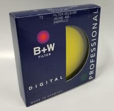 B+W 72mm Yellow MRC 022M Lens Filter VGC [Ori]