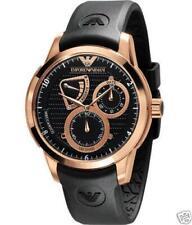Emporio Armani Chrono Mens Meccanico Rose Gold Automatic Watch AR4619