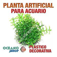 PLANTA ARTIFICIAL 8CM VERDE DECORACIÓN ACUARIO PECERA PLÁSTICO DIÁMETRO D87