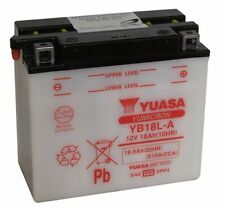 Batterie Yuasa moto YB18L-A MORINI Coguaro -