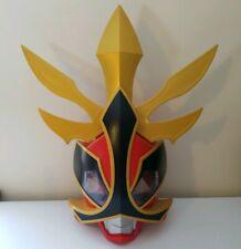 Power Rangers Samurai Shogun Helmet Mask Red Ranger Deluxe Talking Mask Costume