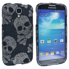 Blue Skeleton Design Snap-On Hard Case Cover for Samsung Galaxy S4