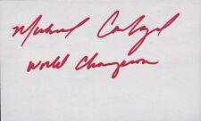 5x World Boxing Champ MICHAEL CARBAJAL Autograph